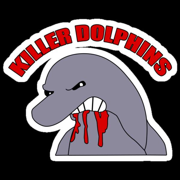 Killer Dolphins by Lars Nielsen