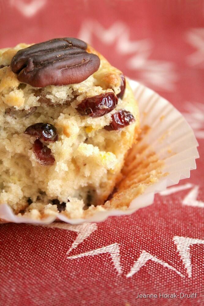 Cranberry orange pecan muffins by Jeanne Horak-Druiff