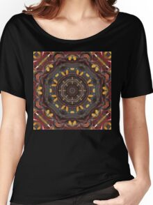 earth tones make music Women's Relaxed Fit T-Shirt