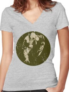 Tracking Women's Fitted V-Neck T-Shirt