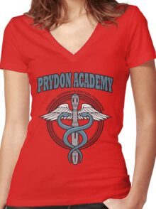 Prydon Academy Women's Fitted V-Neck T-Shirt