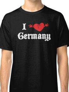 I Love Germany Classic T-Shirt