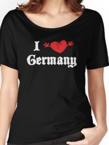 I Love Germany Women's Relaxed Fit T-Shirt