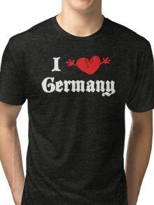 I Love Germany Tri-blend T-Shirt