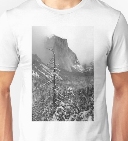 EL CAPITAN,WINTER Unisex T-Shirt