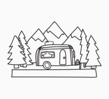 Airstream campers Baby Tee