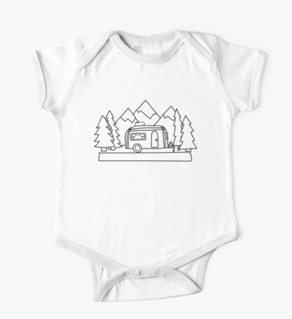 Airstream campers One Piece - Short Sleeve