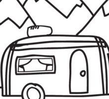 Airstream campers Sticker