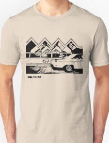 Australian muscle car 1970 Valiant Hemi Pacer Hardtop outside Dino's Diner Sydney take away restaurant 2black T-Shirt