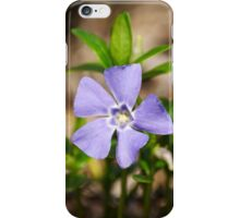 Purple Pinwheels Flower Art iPhone Case/Skin