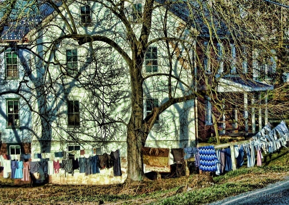 Wash Day in Amish Country by Susan Russell
