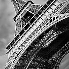 Eiffel tower in Paris by Matej Kastelic