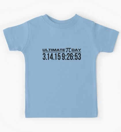 Ultimate Pi Day Kids Tee
