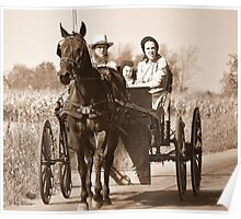 Amish Bliss Poster