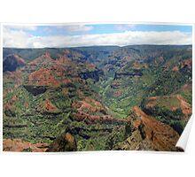 Waimea Canyon, Kaua'i, USA Poster