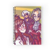 Team Glasses Spiral Notebook