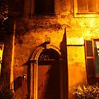 A Door in Borgo, Ostia Antica, Rome, Italy 2010 by Igor Pozdnyakov
