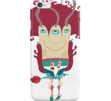 Little monster going on dating. iPhone Case/Skin