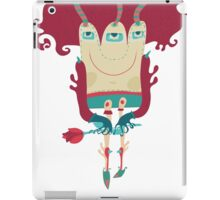 Little monster going on dating. iPad Case/Skin
