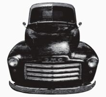 1949 GMC Truck Front End T-Shirt