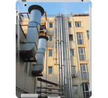 Back of the multistorey office building iPad Case/Skin