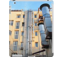 The back side of a multi-storey office building iPad Case/Skin