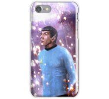 Spock/Leonard Nimoy Tribute Painting iPhone Case/Skin