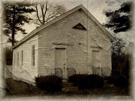 Wylie One Room Schoolhouse, Voluntown, CT by Debbie Robbins