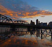 Sunset Reflection by John Behrends