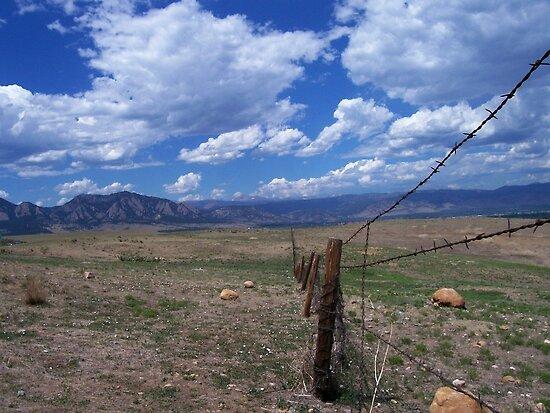 Flat Irons Colorado by Bernie Garland