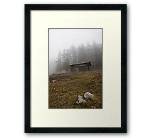 ~ la cascina in montagna ~ Framed Print
