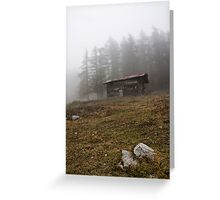~ la cascina in montagna ~ Greeting Card