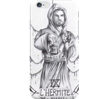 Hannibal tarots - L'Hermite iPhone Case/Skin