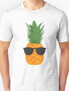Cool Pineapple With Sunglasses T-Shirt