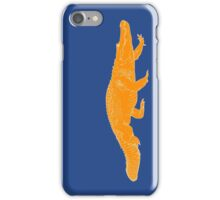 ORANGE gator iPhone Case/Skin
