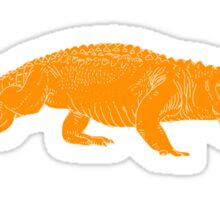 ORANGE gator Sticker