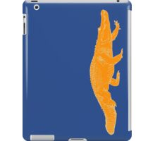 ORANGE gator iPad Case/Skin