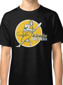 Retro Vintage Milwaukee Brewers Classic T-Shirt