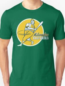 Retro Vintage Milwaukee Brewers Unisex T-Shirt