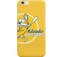 Retro Vintage Milwaukee Brewers iPhone Case/Skin