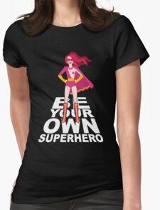 Cee Cee Superhero Womens Fitted T-Shirt