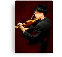 The Lonely Violinist Canvas Print