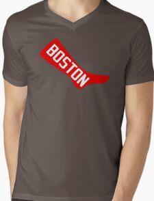 Boston Red Sox - Original 1908 Logo Mens V-Neck T-Shirt