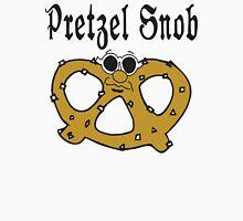 """Funny Pretzel """"Pretzel Snob"""" Pretzels Women's Fitted Scoop T-Shirt"""