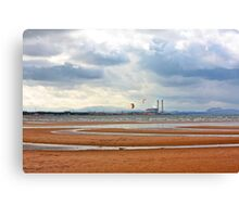 Scottish Summer at the seaside Canvas Print
