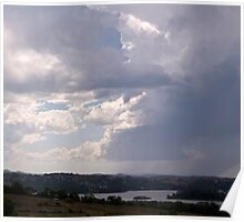 Storm over Terranora Broadwater Poster