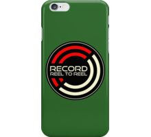 Record Reel To Reel iPhone Case/Skin