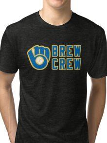 Milwaukee Brewers Brew Crew Tri-blend T-Shirt