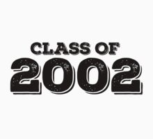 Class of 2002 Kids Clothes