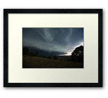 The Coming Storm, Terranora NSW Framed Print